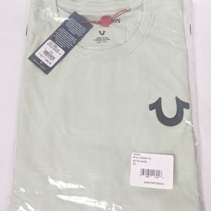 True Religion Metallic Branded TShirt